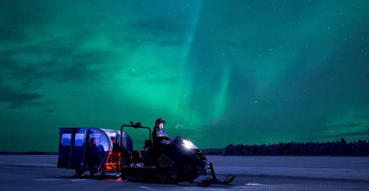 De Rovaniemi: excursão Northern Lights de Snowtrain