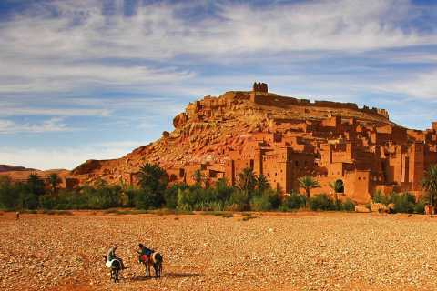 Marrakech: Ait Benhaddou Kasbah Guided Tour with Lunch