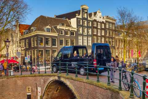 Amsterdam: Panoramic Sightseeing Tour with Audioguide