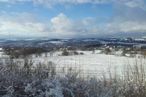 Desde Leipzig: traslado de regreso a la pista de esquí de Fichtelberg
