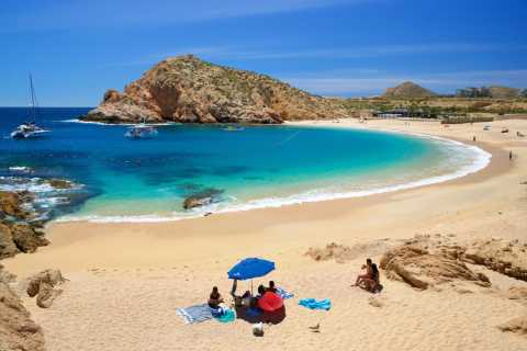 Cabo San Lucas: Schnorcheltour mit Open Bar & Snacks