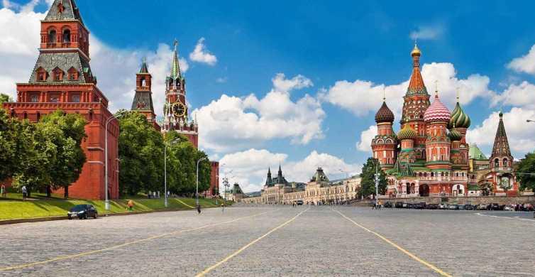 Moskau: Privater Tagesrundgang mit Kreml-Eintritt