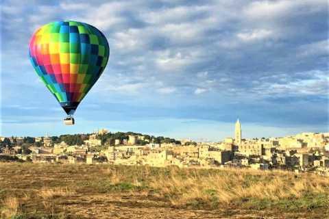 Matera: Hot Air Balloon Tour met ontbijt