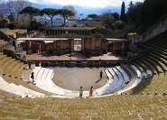 Rom: Privater Tagesausflug an die Küste von Pompeji und Amalfi