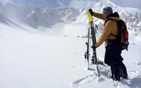 Salt Lake City: Cottonwood Canyons Backcountry Ski Tour