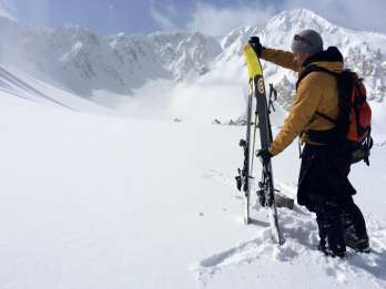 Salt Lake City: Cottonwood Canyons Skitour im Hinterland