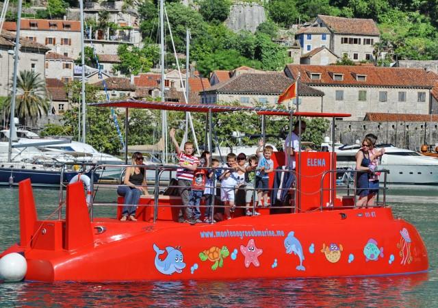 Kotor: Panorama en semi-onderzeeër onderwaterervaring