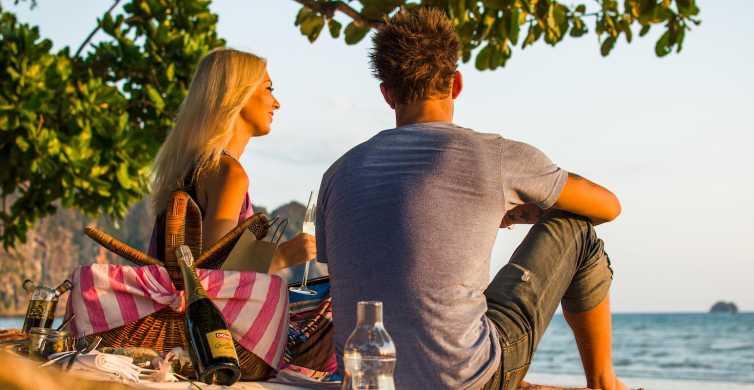 Krabi: Private Island Luxury Picknick mit dem Long Tail Boat