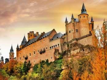 Ganztägige Tour von Avila und Segovia ab Madrid