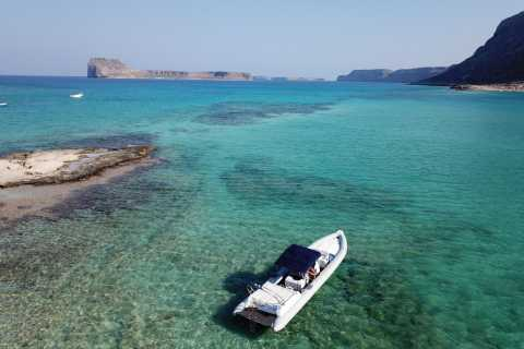 From Chania: Private Balos Bay & Gramvousa Island Boat Trip