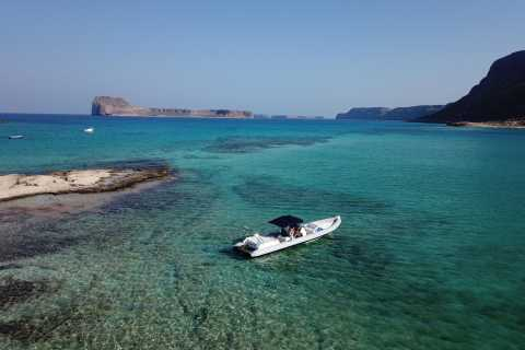 From Kissamos Port: Balos and Gramvousa Private RIB Cruise