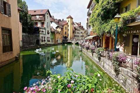 Visite privée à pied du centre historique d'Annecy