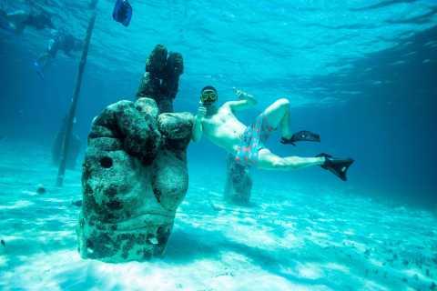 Cancun: 3-Hour Snorkel at Underwater Museum & Coral Reef