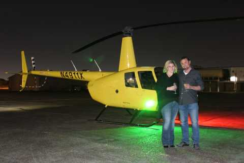 New Orleans: Private City Lights Helicopter Night Tour