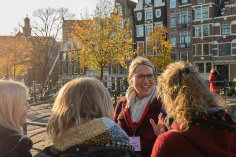 Amsterdam: Jordaan District Tour con un alemán