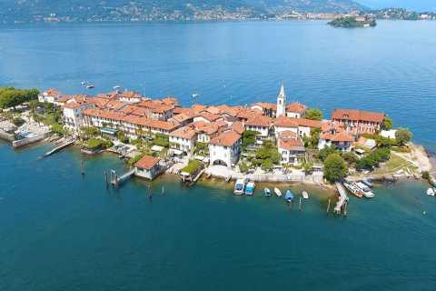 De Stresa: billet de bateau à arrêts multiples Isola Pescatori
