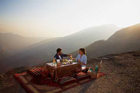 Jebel Jais Mountain Picnic from Ras al Khaimah