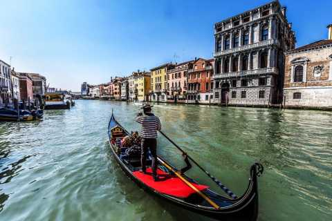 Venezia: giro privato in gondola di 45 minuti