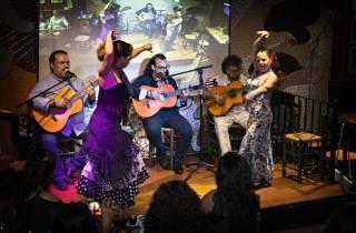 Valencia: Abendessen mit Flamenco-Show