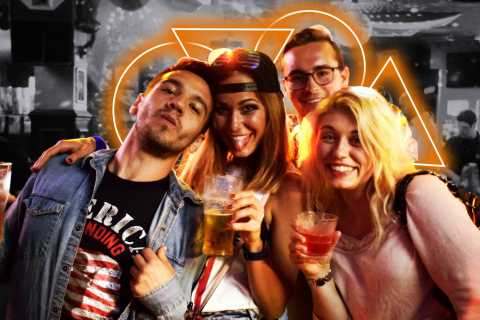 Central London Bar Crawl and Nightlife Tour