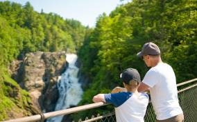 Canyon Sainte-Anne: Park Admission Ticket