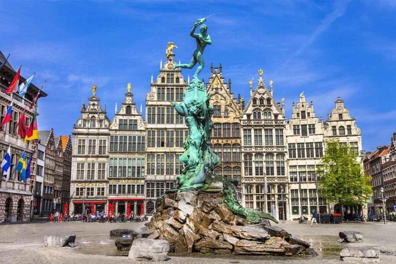 Antwerpen: Rundgang in englischer Sprache