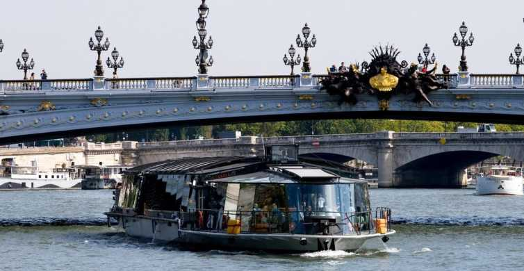 Paris: Lunch Cruise & Eiffel Tower with Optional Summit