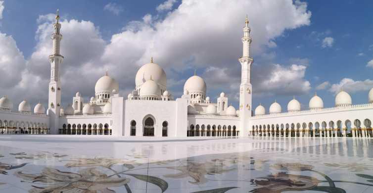 Fra Dubai: Guidet heldagsgruppetur med frokost til Abu Dhabi