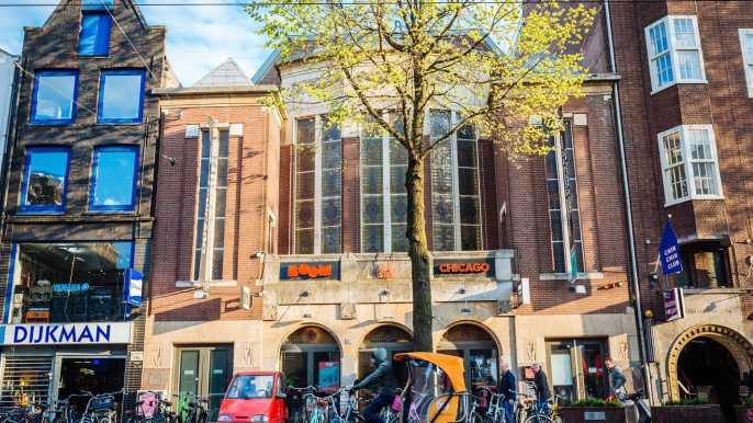 Ámsterdam: famoso espectáculo de comedia de Boom Chicago