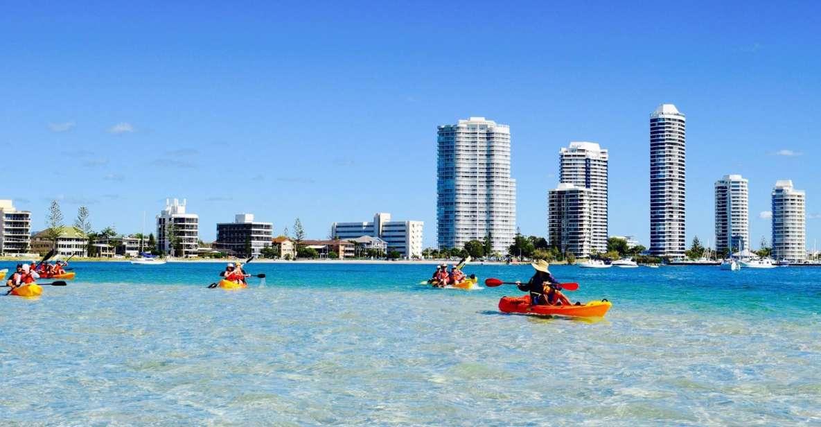Gold Coast: tour in kayak e snorkeling dell'isola di Wave Break