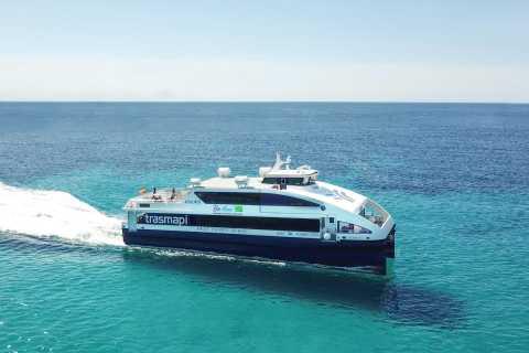 De Ibiza: bilhete de retorno de ferry para Formentera