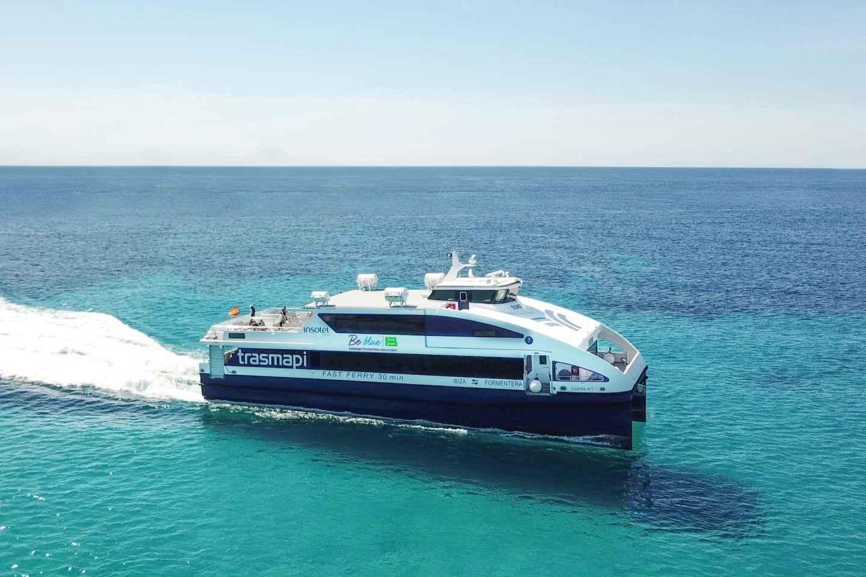 Von Ibiza: Rückfahrt mit der Fähre nach Formentera