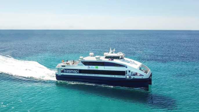 From Ibiza: Return Ferry Ticket to Formentera