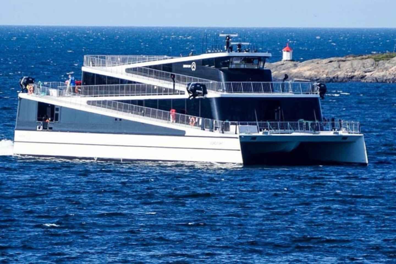 Oslo: Szenische Fjordkreuzfahrt auf einem modernen Hybridboot