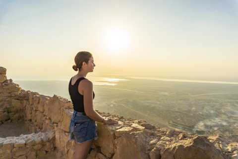 From Tel Aviv: Masada Sunrise, Ein Gedi & Dead Sea Hike