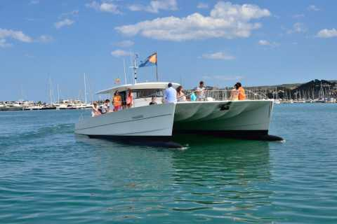 From Dénia: 5-Hour Catamaran Excursion to Granadella Beach
