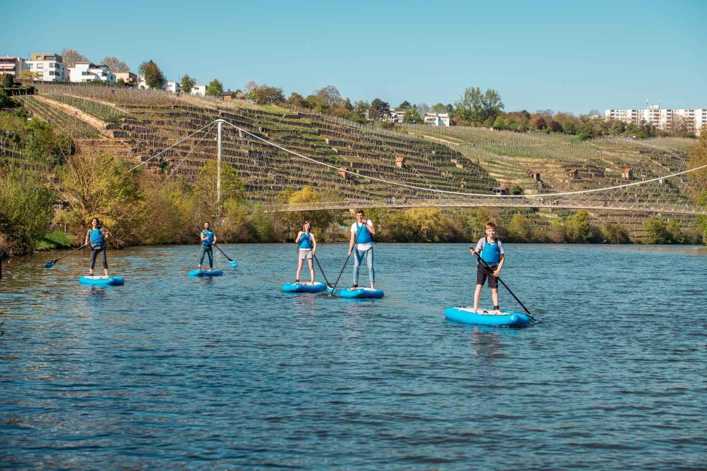 Stuttgart: Stand-Up Paddleboarding Anfängerklasse