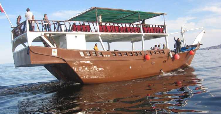 Musandam Dibba: Ganztägige Bootsfahrt mit Mittagessen