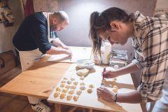 Bolonha: Aula de culinária caseira