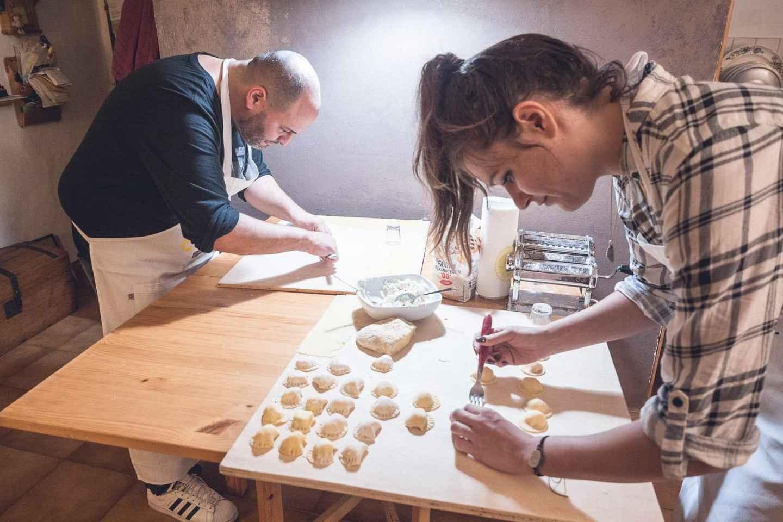 Bologna: Praktischer Kochkurs bei einer Gastfamilie