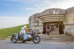 De Bayeux: excursão de meio dia no dia D da Normandia por Sidecar vintage