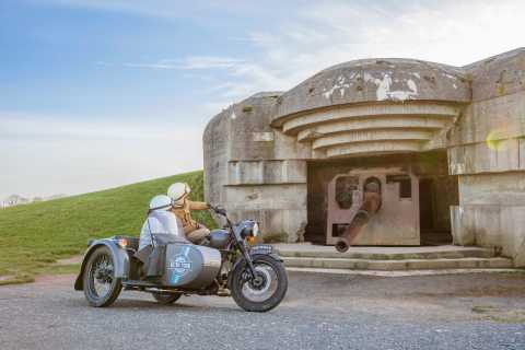 From Bayeux: Normandy D-Day Half-Day Tour by Vintage Sidecar