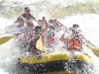 Colorado River: Halbtägige Raftingtour ab Glenwood Springs
