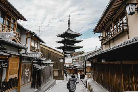 Kioto: Kiyomizu Dera & Gion District Photography Tour