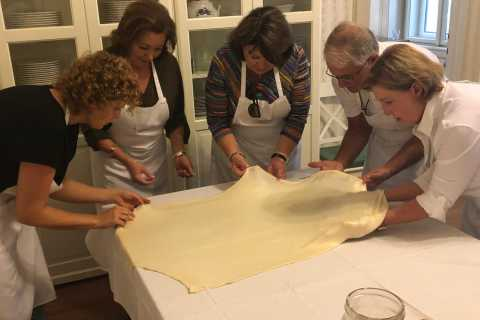 Budapest: Hands-On Strudel Making Class