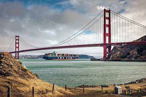 San Francisco: Luxury Van Tour with Snacks