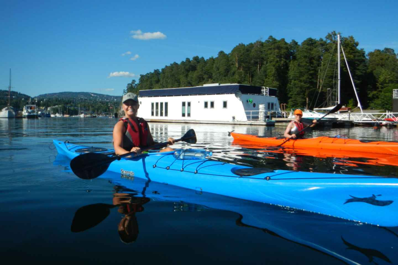 Oslo: Kajaktour auf dem Oslofjord