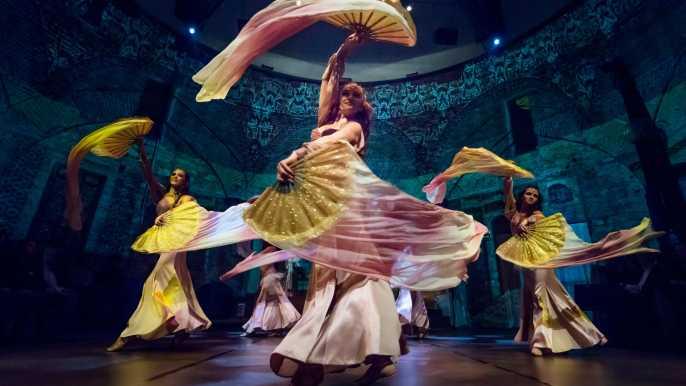 Danza turca en el Centro Cultural Hodjapasha