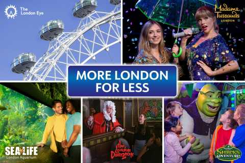 Londres : pass 5 attractions
