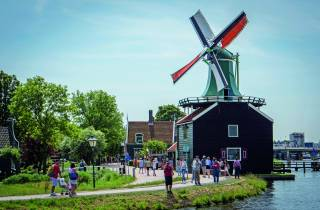 Ab Amsterdam: Hop-On/Hop-Off Zaanse Schans, Edam & Volendam